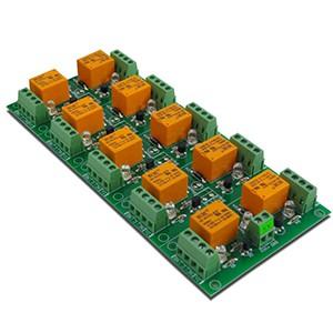 DAE-RB/Ro10-5V Scheda relè a 10 canali