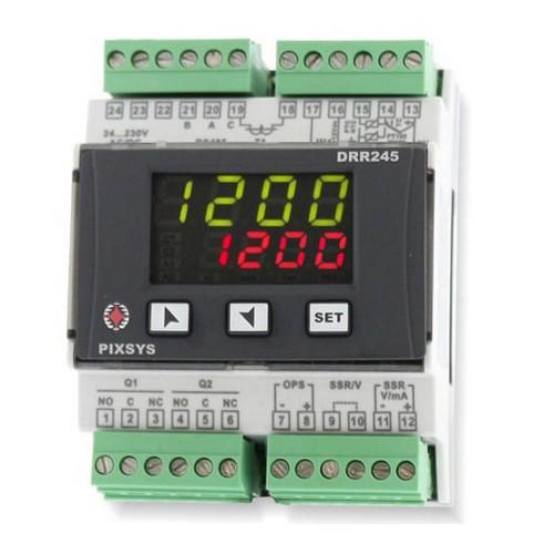 DRR245-21ABC-T PIXSYS CONTROLLORE PID PER GUIDA DIN
