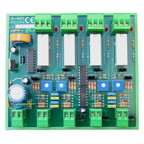 INTELLISYS IS/4RM Convertitore da 0...10 Vdc a ON/OFF