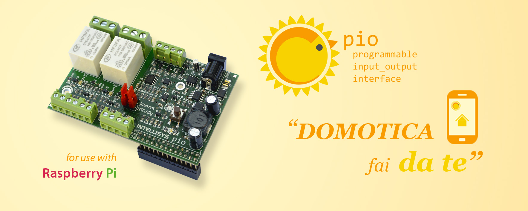 PIO Programmable Input_Output Interface - Domotica fai da te